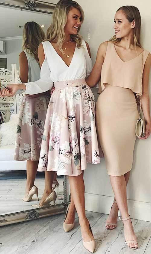 Zarif Abiye Yazlık Elbise Modelleri-20