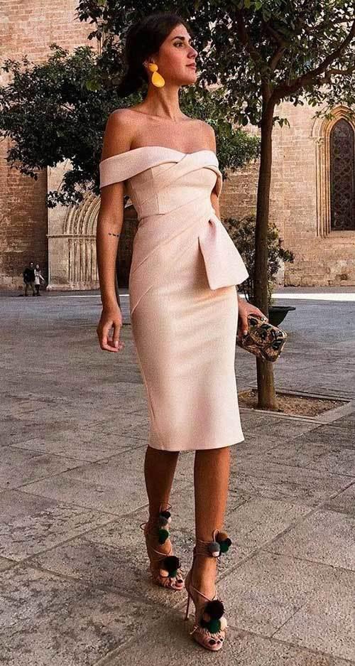 Klasik Abiye Yazlık Elbise Modelleri-7
