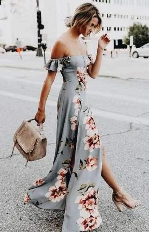 Abiye Yazlık Elbise Modelleri