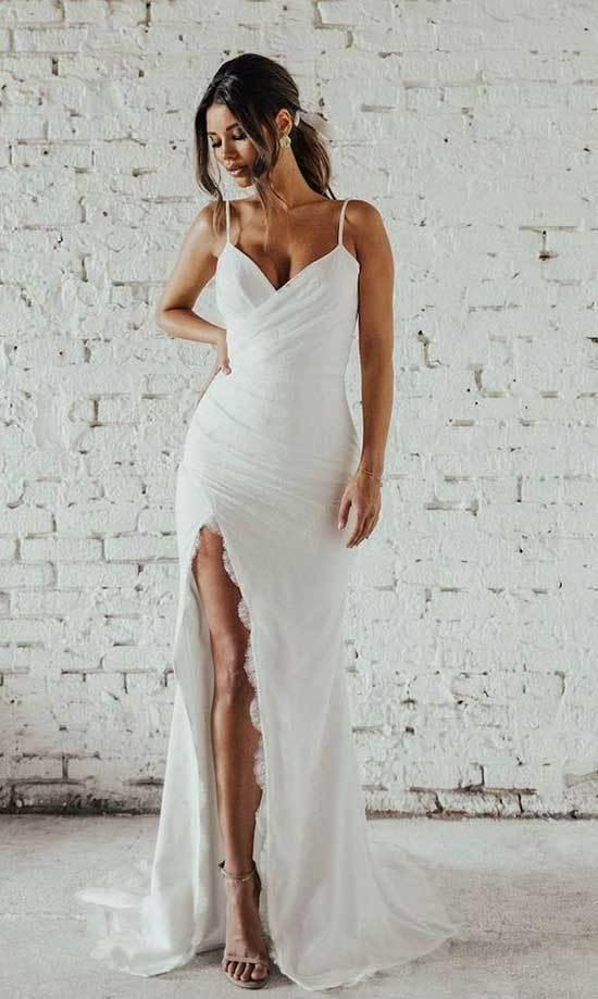 Nikah Elbisesi Modelleri-19