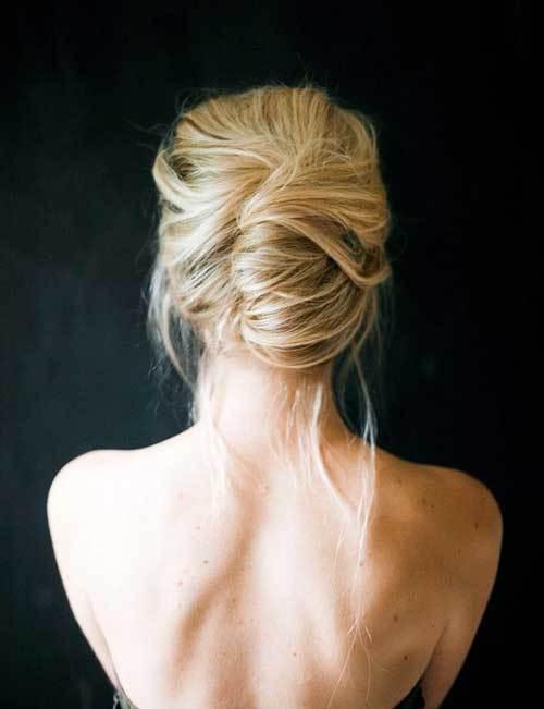 Klasik Abiye Kısa Saç Modelleri