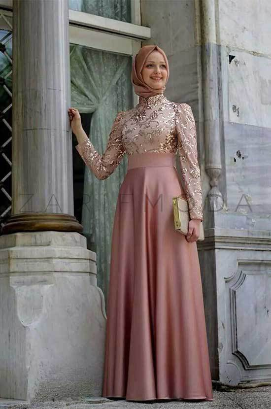 Tesettür Abiye Modelleri 2019
