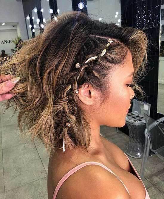 Kısa Saç Işıltı Modelleri-13