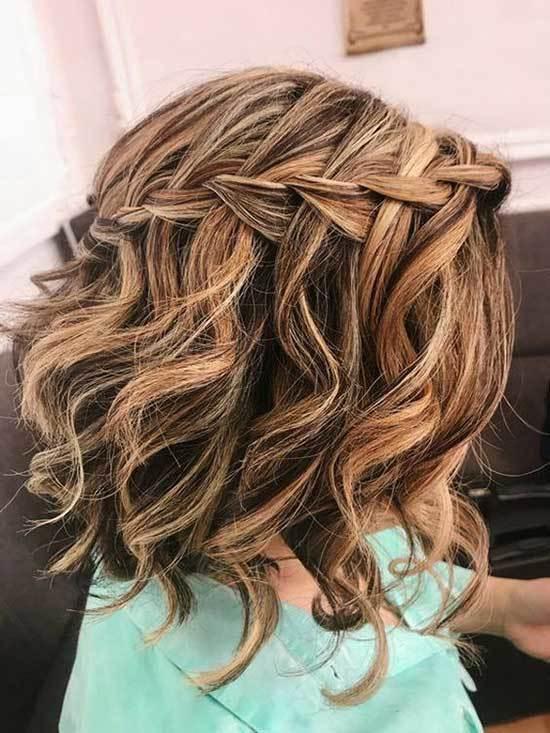 Dalgalı Kısa Saç Işıltı Modelleri