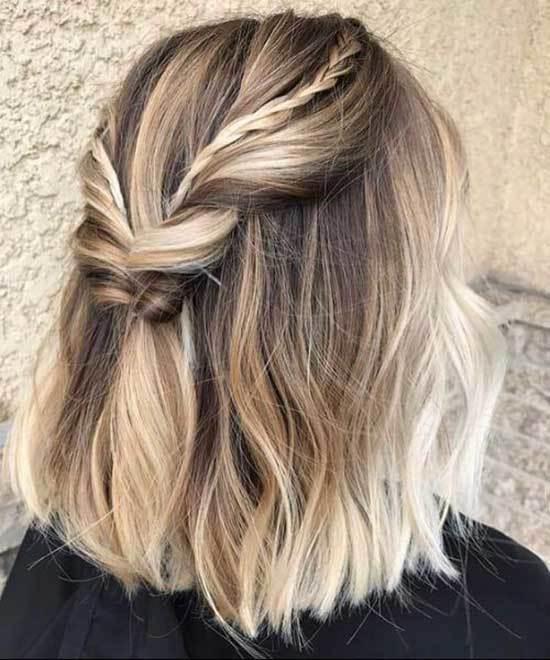 Işıltılı Kısa Saç Modelleri