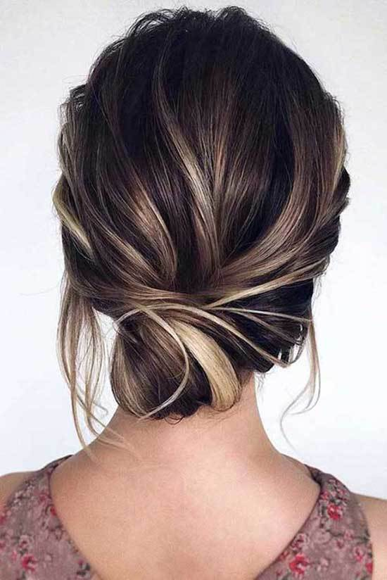 Kısa Abiye Saç Modelleri