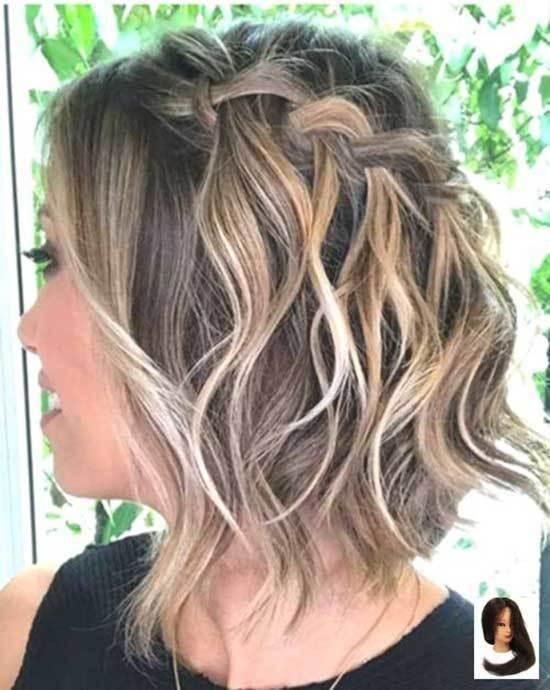 Kısa Saç Işıltı Trend Modelleri