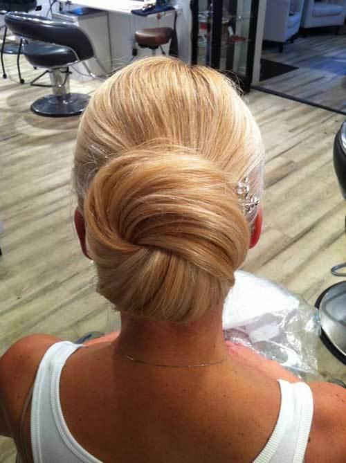 Klasik Topuz Saç Modelleri