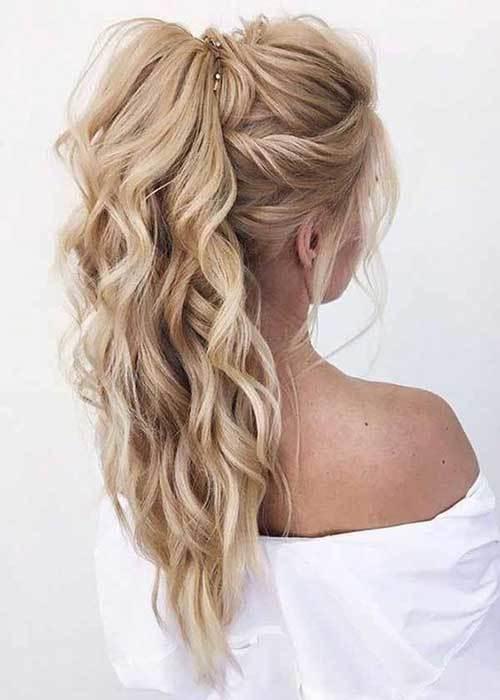 Abiye Saç Modelleri-15
