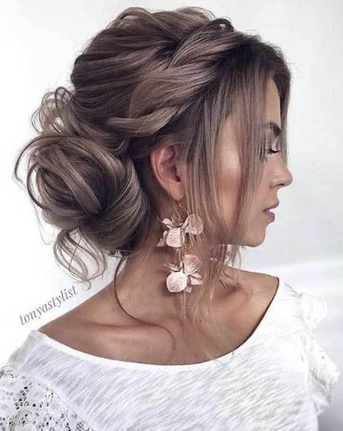 Abiye Saç Modelleri-16