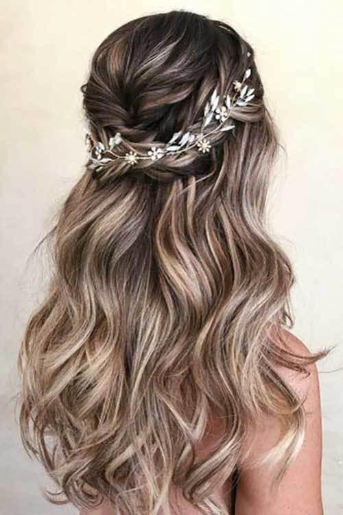 Abiye Saç Modelleri-21