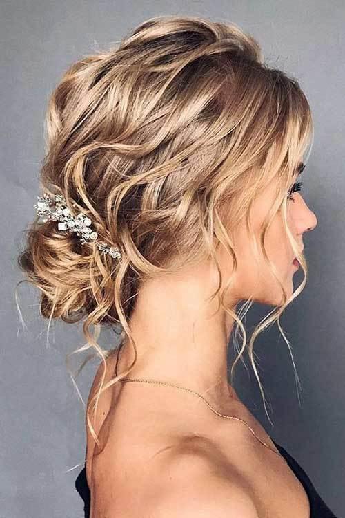 Abiye Saç Modelleri-7