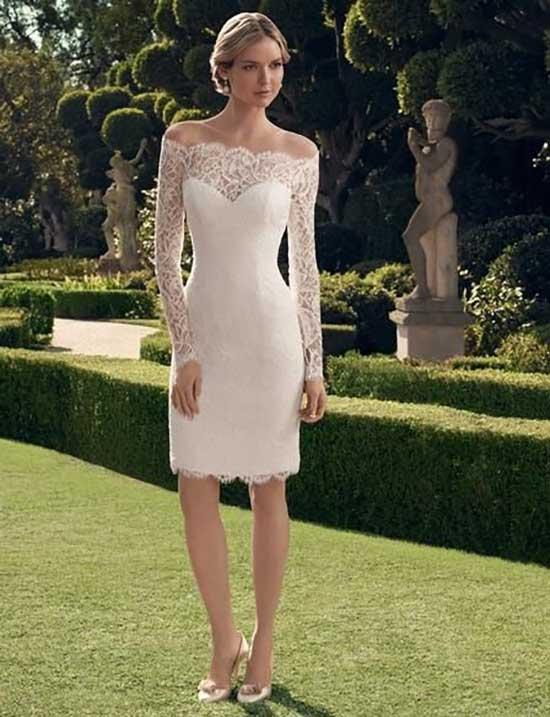 Nikahta Giyilecek Beyaz Elbise